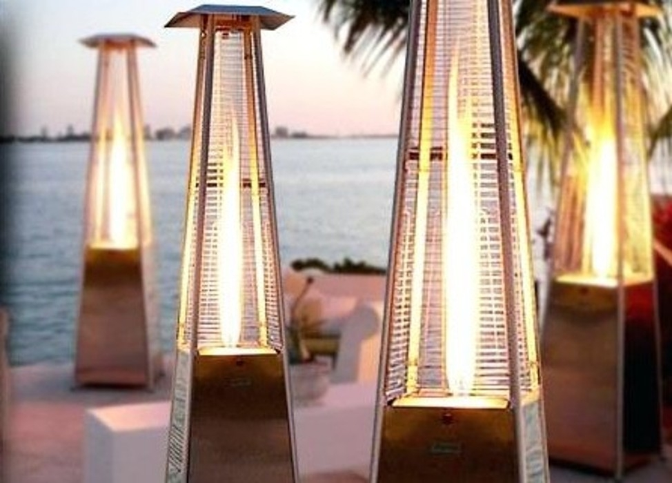 outdoor heater propane pyramid style patio heater