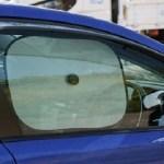 車の運転席・助手席のカーテンやサンシェードは交通違反!罰金と点数は?