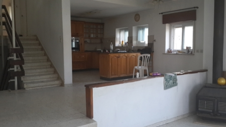 View of existing kitchen