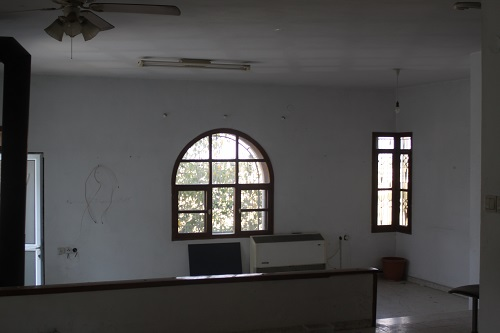 This was the main lounge window before we bought the house.