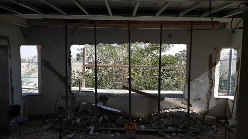 This was the main lounge window being enlarged.