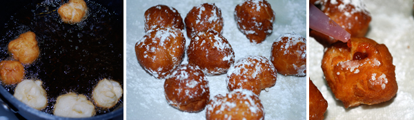 Jelly Doughnuts (Sufganiot) by FamilySpice.com
