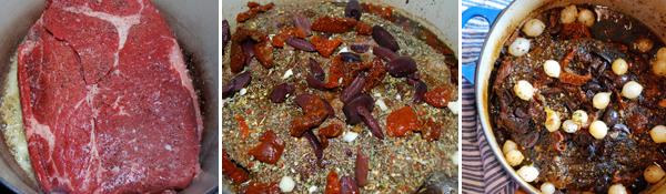 Kalamata Olive and Sundried Tomato Pot Roast - Family Spice