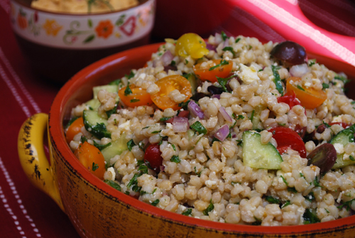 Pelted Wheat Salad by FamilySpice.com