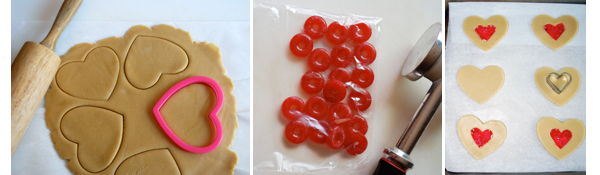 Stained Glass Cookies by FamilySpice.com