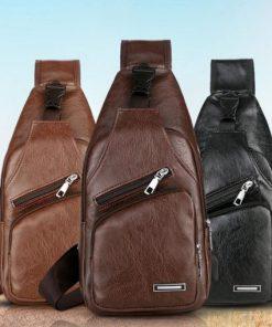 Muška torba za prsa