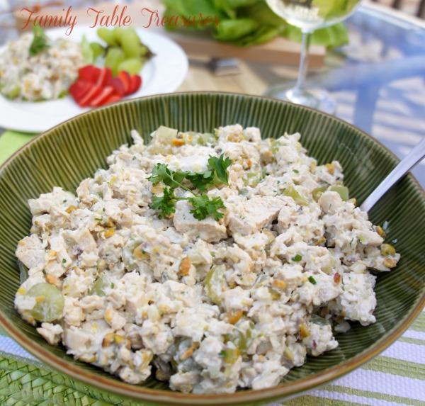 Chicken Salad {Veronique}