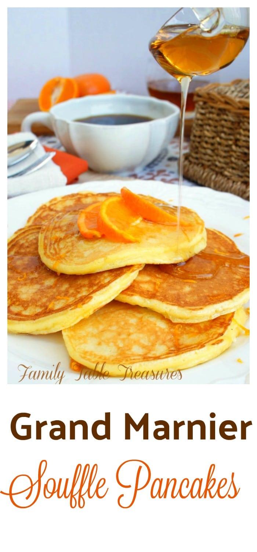 Grand Marnier Souffle Pancakes