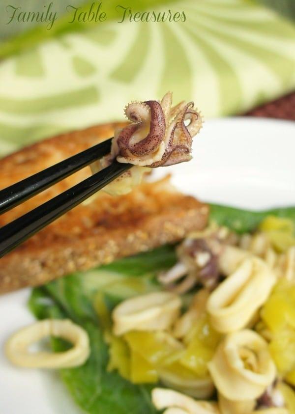 {Steve's} Calamari