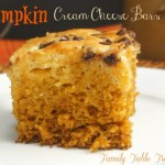 Pumpkin Cream Cheese Bars