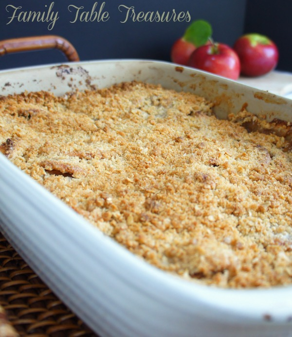 {Waters Farm} Apple Crisp