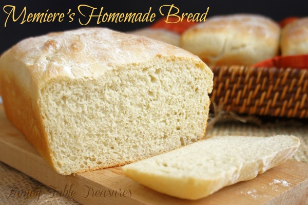 {Memiere's} Homemade Bread