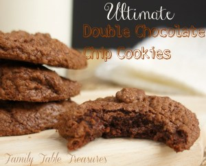 {Ultimate} Double Chocolate Chip Cookies