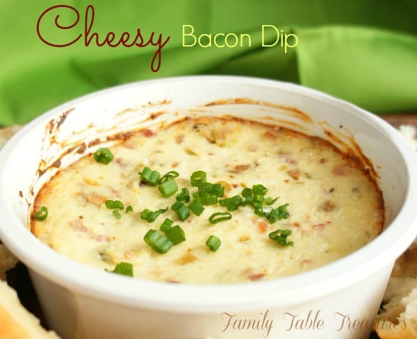 {Cheesy} Bacon Dip
