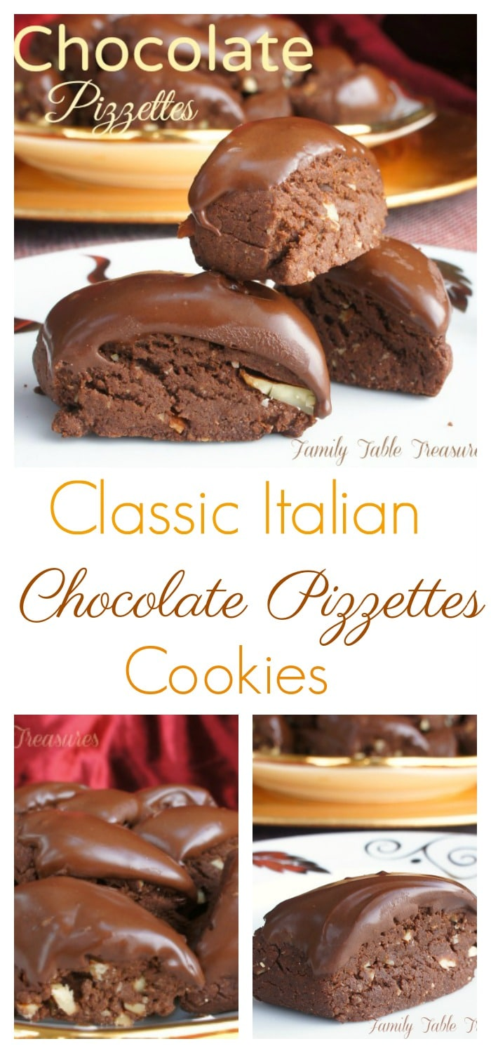 Chocolate Pizzettes