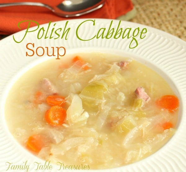 Polish Cabbage Soup