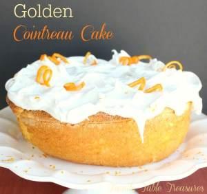 Golden Cointreau Cake