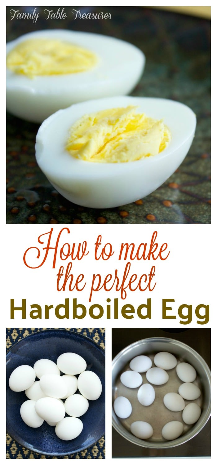 How to make the perfect Hardboiled Egg