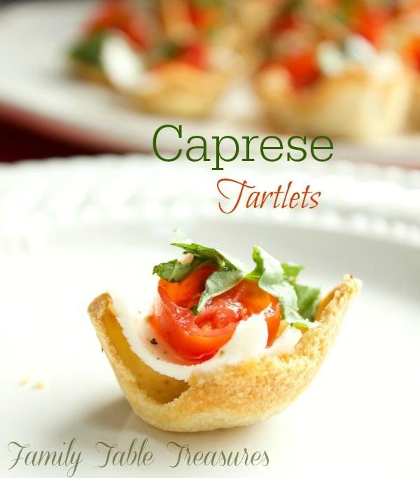 Caprese Tartlets
