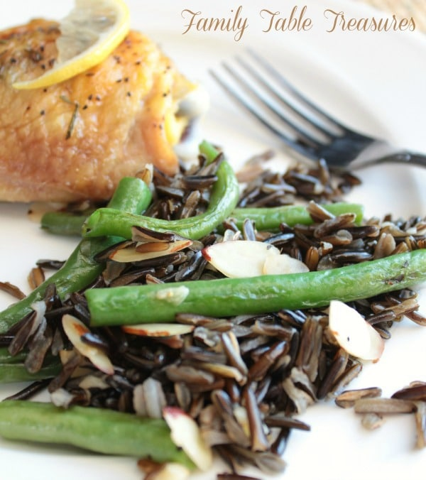 Green Bean & Wild Rice Stir Fry