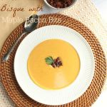 Sweet Potato Bisque with Maple Bacon Bits
