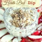 Heath Bar Dip {Three Ingredients}
