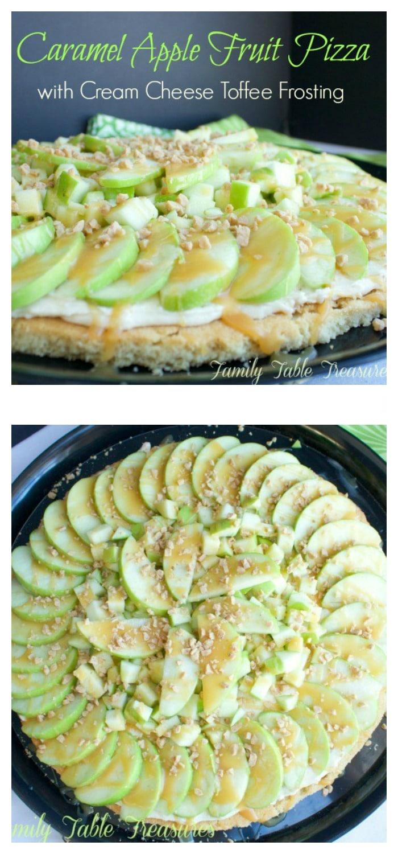 Caramel Apple Fruit Pizza
