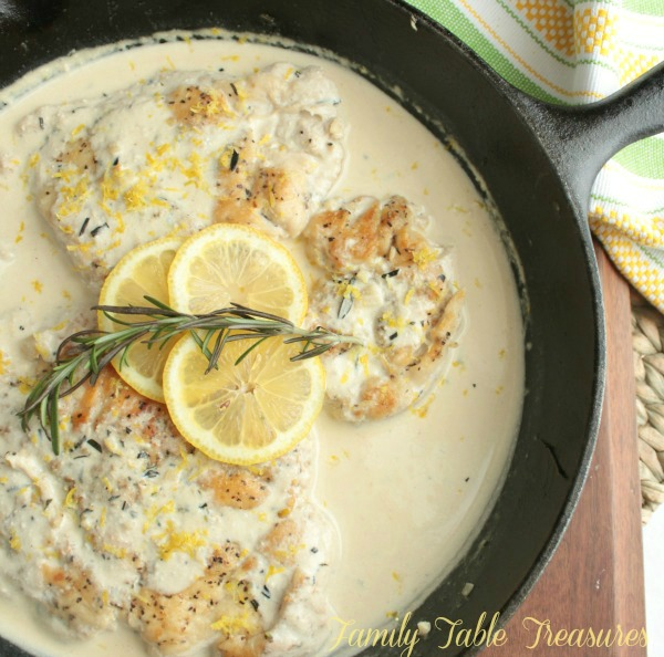 Chicken Scallopini {with Lemon}