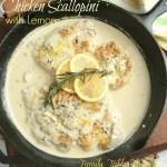 Chicken Scallopini {with Lemon}