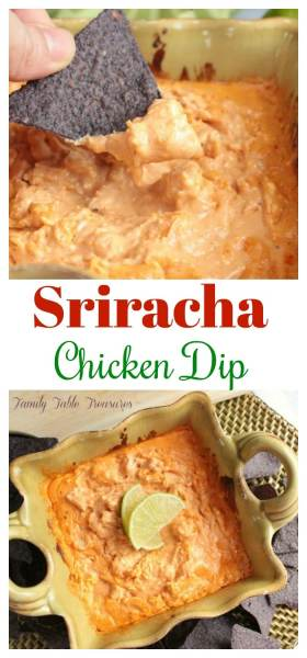Sriracha Chicken Dip