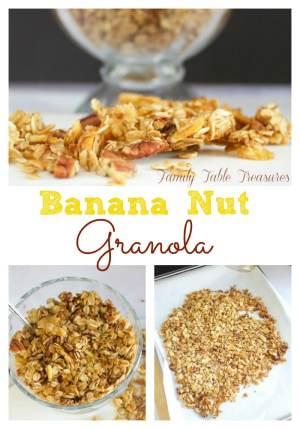 Banana Nut Granola
