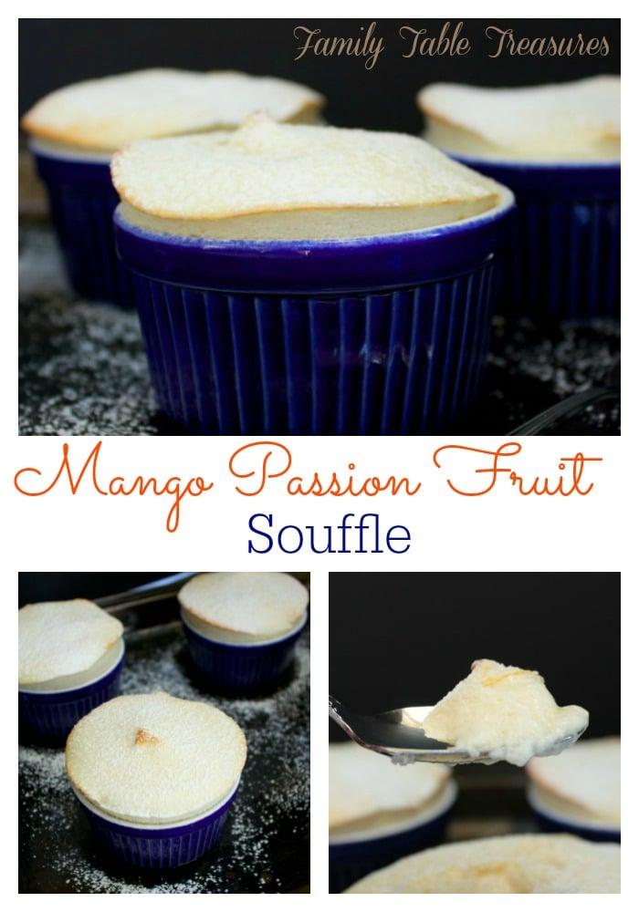 Mango Passion Fruit Souffle