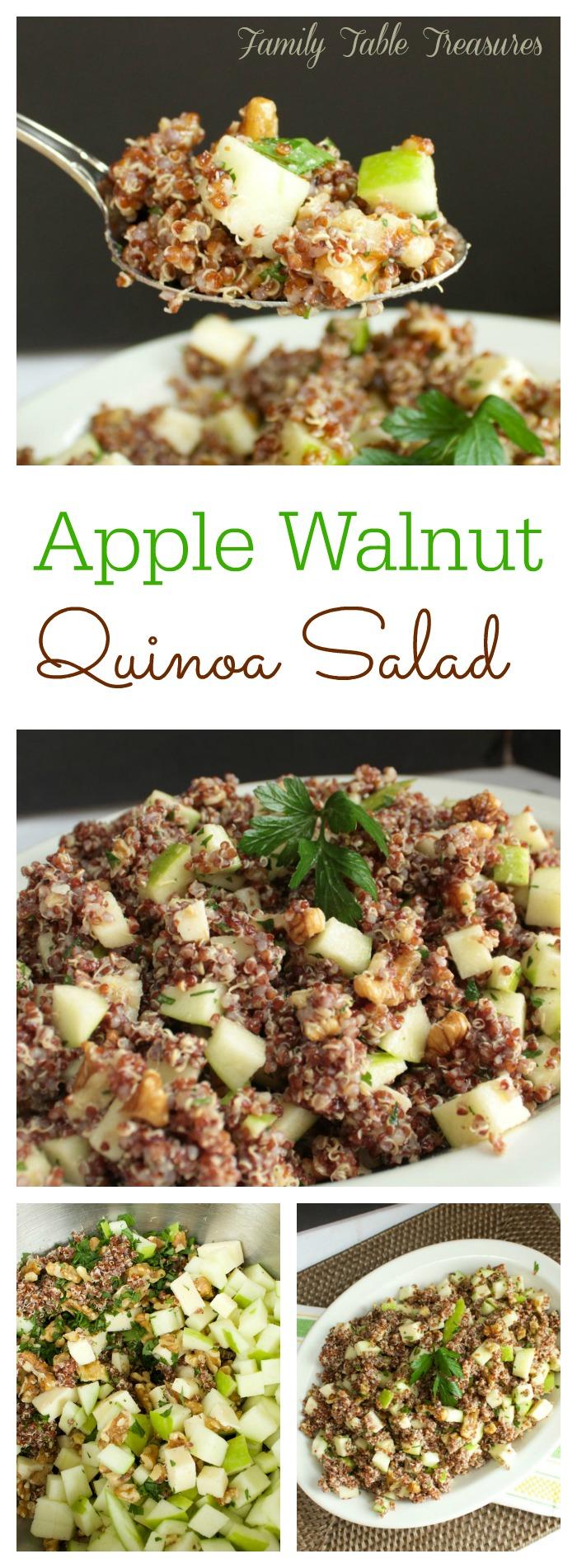Apple Walnut Quinoa Salad