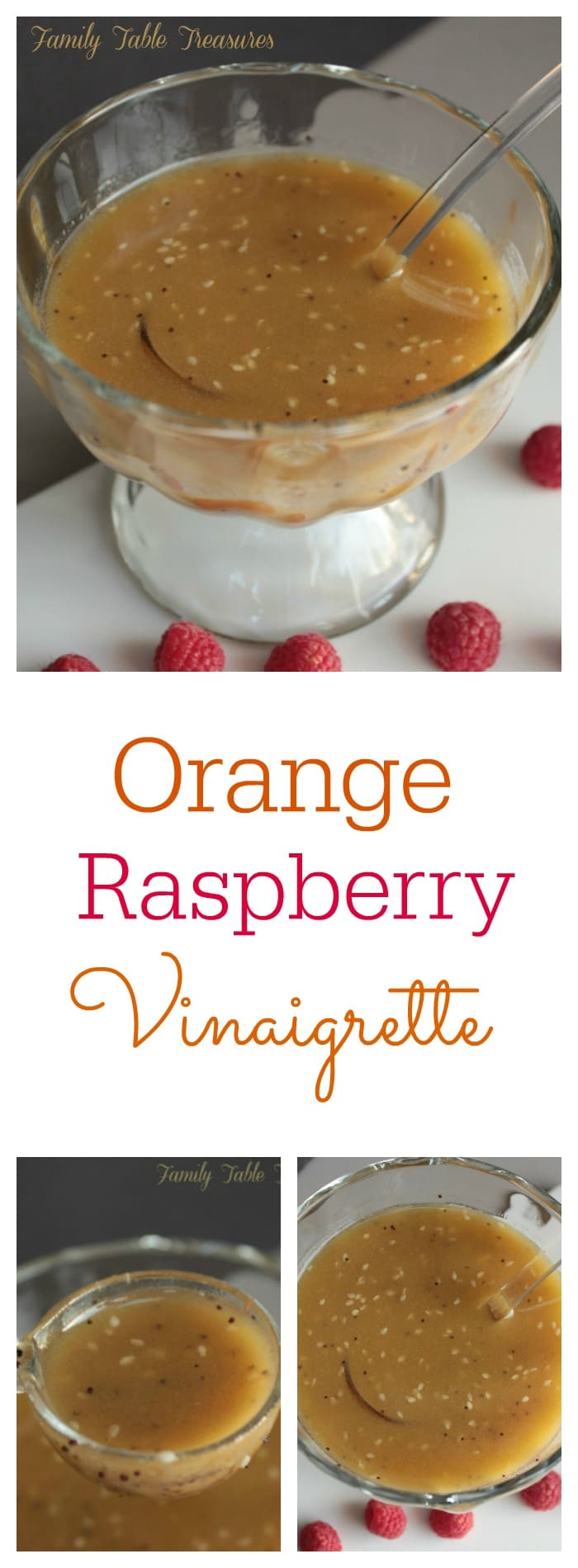 Orange Raspberry Vinaigrette