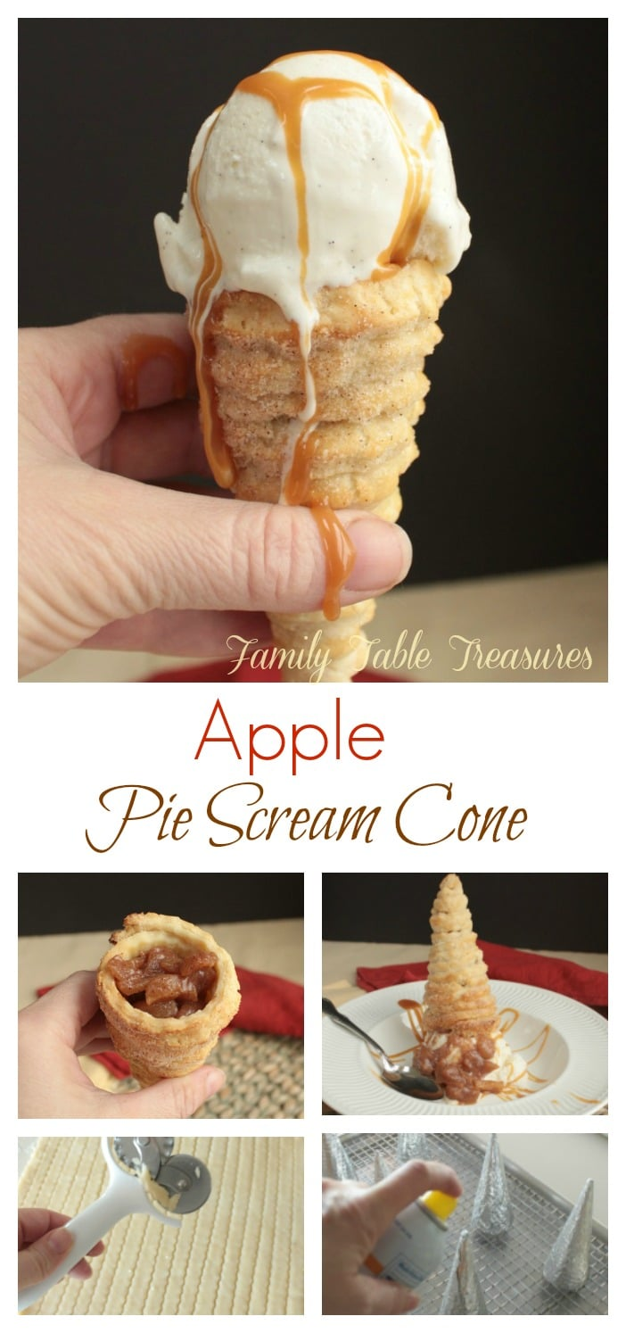 Pie Crust Cones