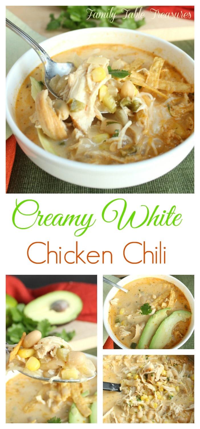 Creamy White Chicken Chili