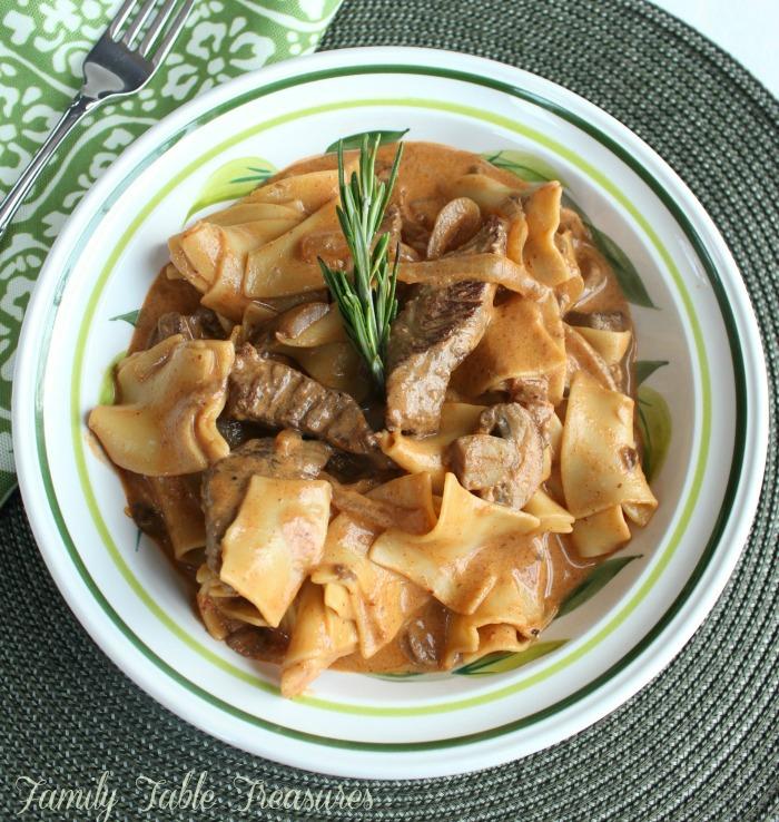 Magyar Beef Paprikash