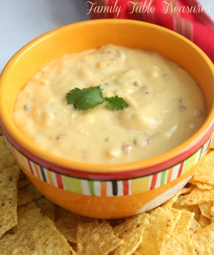 Best Homemade Queso Dip Recipe