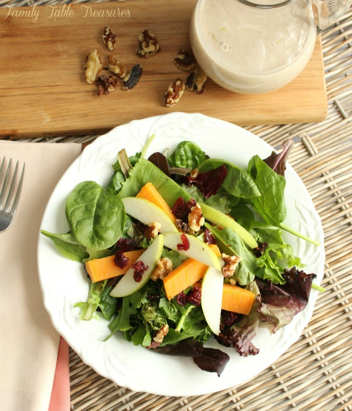 Maple Walnut Vinaigrette Recipe