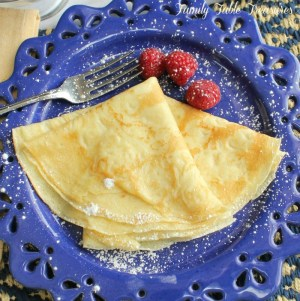 French Crêpe Recipe