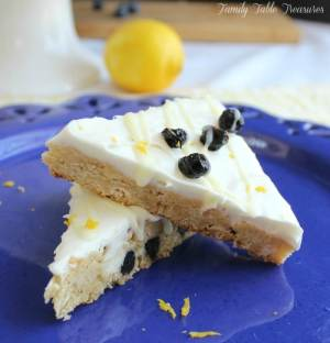 Lemon Blueberry Bliss Bars