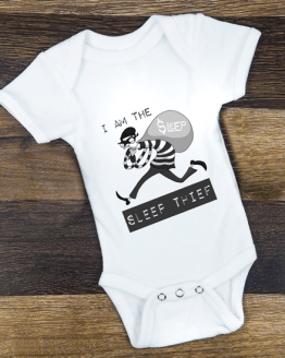 Babygrow Sleep Thief White