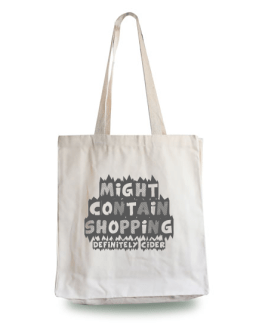 Might Contain Cider Tote Bag