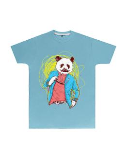 Panda Bear T Shirt Mens