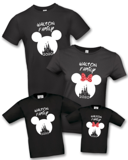 Disney Family Holiday Castle T Shirt