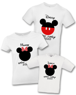 Disney Family Holiday T Shirt