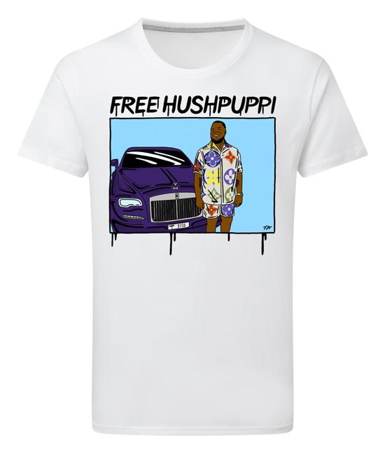 Free Hushpuppi T Shirt