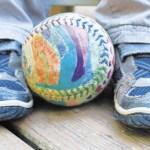 DIY Softball for Dad
