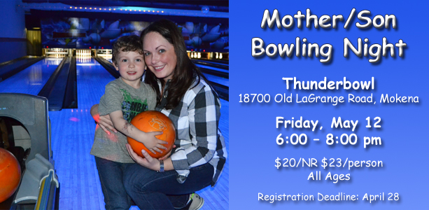 Mother/Son Bowling Night
