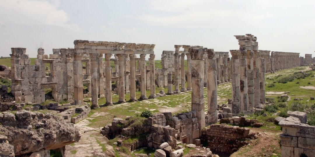 Afamia - Apamea historic site in northern Syria | Middle East Destinations